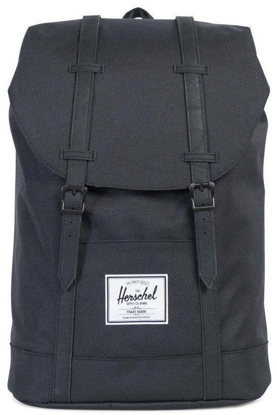 HERSCHEL TRAVEL HERSCHEL RETREAT BACKPACK - BLACK/BLACK