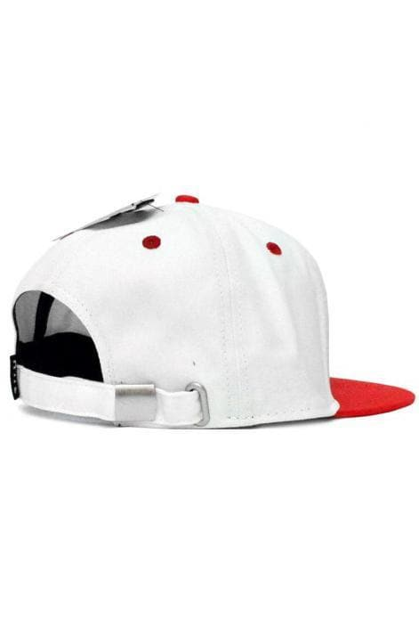 HUF HEADWEAR HUF GENUINE 6 PANEL STRAPBACK CAP - RED