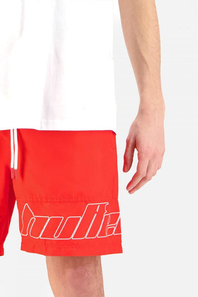 HUFFER SHORTS HUFFER STAPLE TRUNK - RED