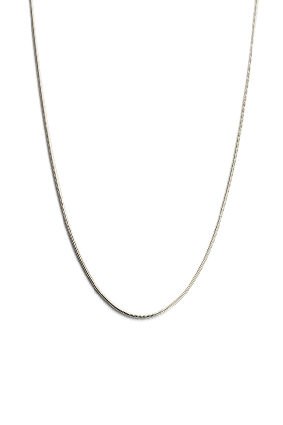 "KIRSTIN ASH JEWELLERY KIRSTIN ASH SNAKE CHAIN 18"" - STERLING SILVER"