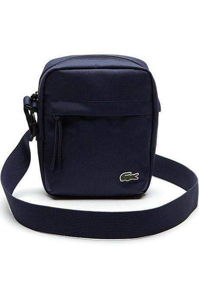 LACOSTE BAGS LACOSTE NEO CROC CAMERA BAG - PEACOAT