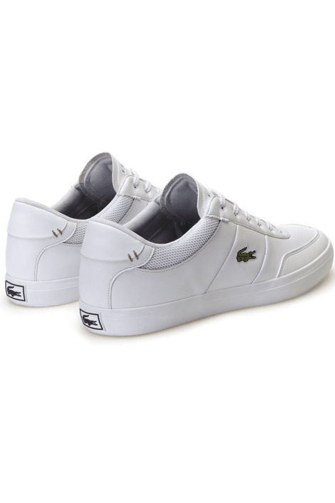 LACOSTE FOOTWEAR LACOSTE COURT-MASTER - WHITE/NAVY