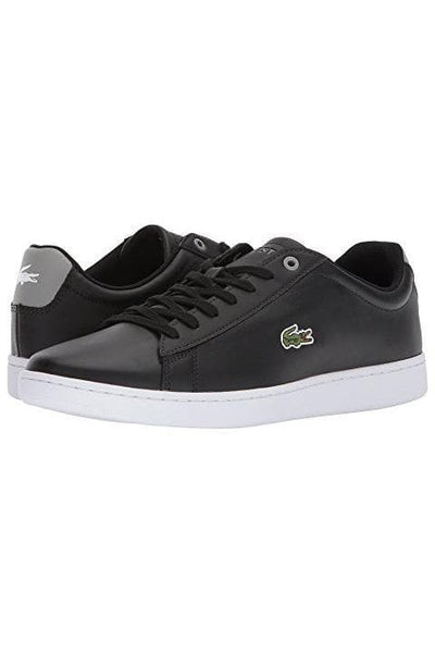 LACOSTE FOOTWEAR LACOSTE HYDEZ SHOE - BLACK/GREY