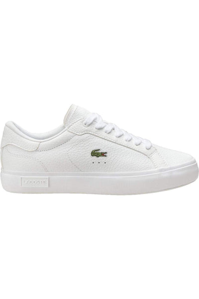 LACOSTE FOOTWEAR LACOSTE MENS POWERCOURT 0721 - WHITE/WHITE