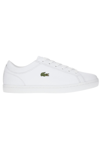 LACOSTE FOOTWEAR LACOSTE MENS STRAIGHTSET - WHITE