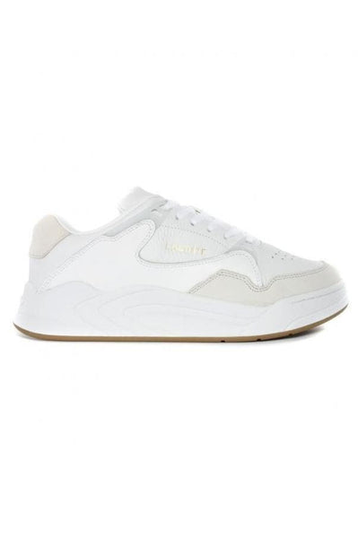 LACOSTE FOOTWEAR LACOSTE WOMENS COURT SLAM 319 - WHITE/GUM