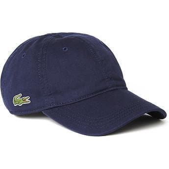 LACOSTE HEADWEAR LACOSTE BASIC SIDE CROC SPORT DRY FIT CAP - NAVY