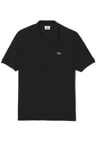 LACOSTE POLO XS LACOSTE CLASSIC FIT POLO - BLACK