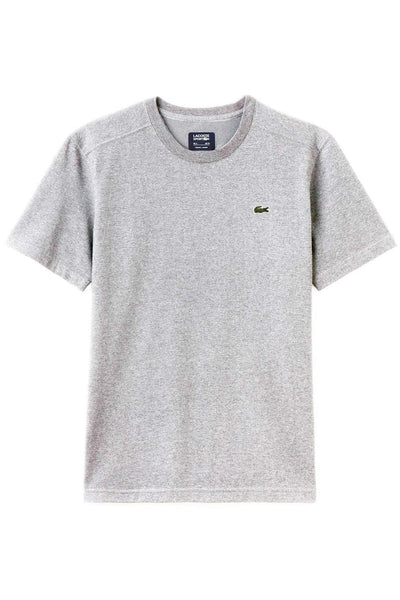 LACOSTE TEES LACOSTE BASIC SPORT TEE - GREY