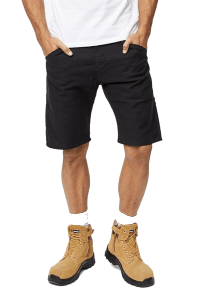 LEVIS SHORTS LEVIS 505 REGULAR FIT WORKWEAR UTILITY SHORTS - BLACK