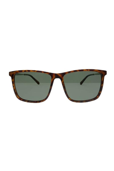 LOCAL SUPPLY SUNGLASSES LOCAL SUPPLY DISTRICT - CTP2 POLISHED CARAMEL TORT DARK GREEN TINT