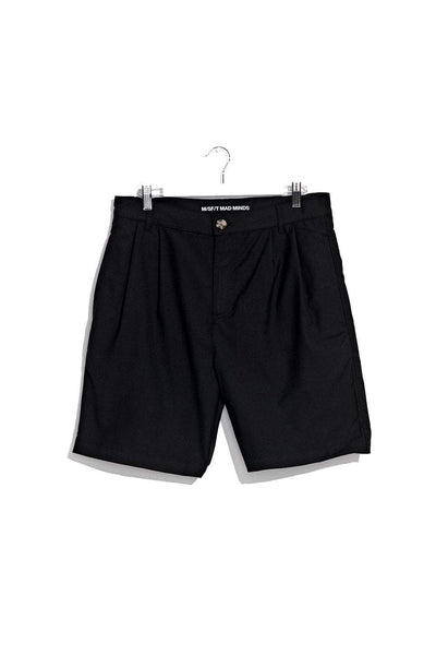 MISFIT APPAREL SHORTS MISFIT LIVINGSTEYNE SHORT - BLACK