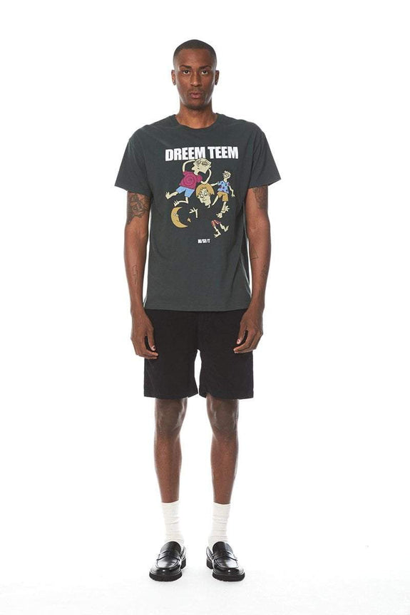 MISFIT APPAREL TEES MISFIT DREEM TEAM TEE - JUNGLE