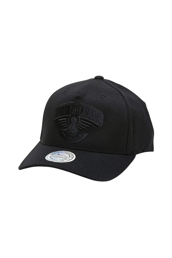 MITCHELL & NESS HEADWEAR MITCHEL & NESS PELICANS 110 FLEX SNAP BACK - BLACK