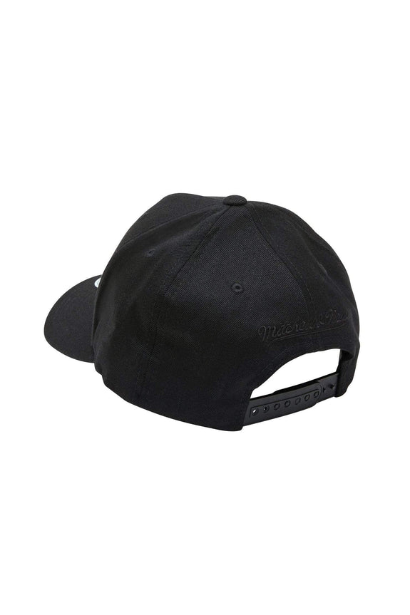 MITCHELL & NESS HEADWEAR MITCHELL & NESS BROOKLYN NETS FLEX 110 - ALL BLACK