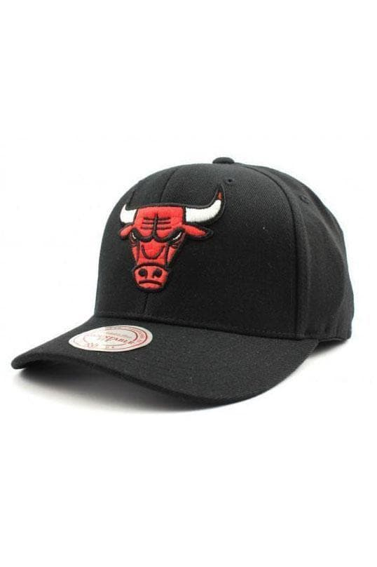 MITCHELL & NESS HEADWEAR Default Title MITCHELL & NESS CHICAGO BULLS FLEX 110 - BLACK/RED