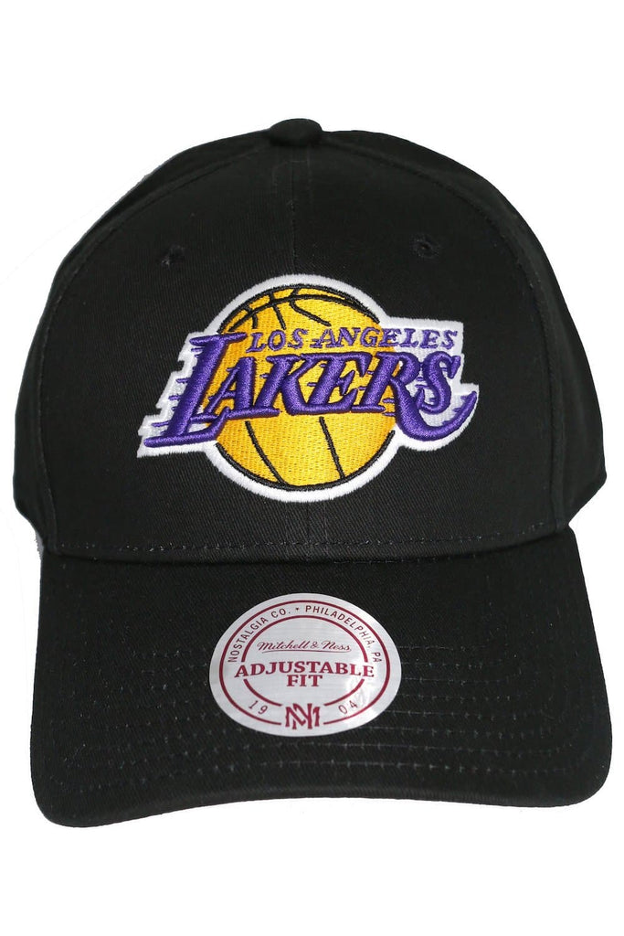 MITCHELL & NESS HEADWEAR MITCHELL & NESS LOS ANGELES LAKERS SNAPBACK - BLACK