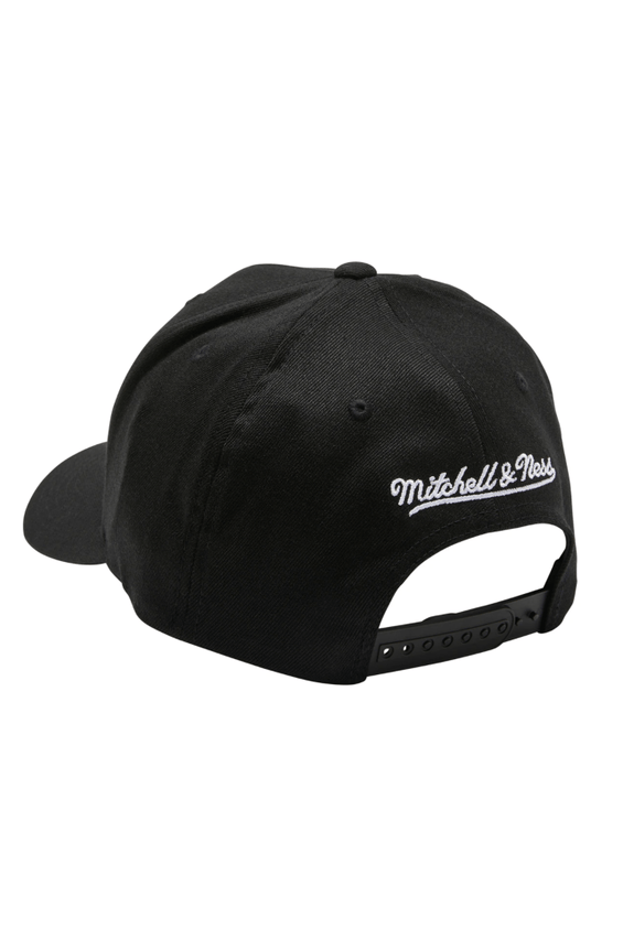 MITCHELL & NESS HEADWEAR MITCHELL & NESS SEATTLE SUPERSONICS 110 FLEX SNAP BACK - BLACK