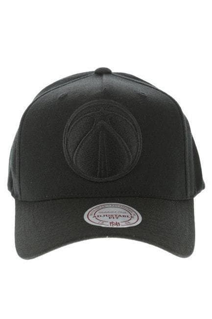 MITCHELL & NESS HEADWEAR MITCHELL & NESS WIZARDS PINCH 110 FLEX SNAPBACK - BLACK/BLACK