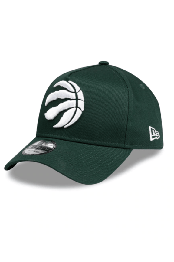MITCHELL & NESS HEADWEAR NEW ERA A FRAME SNAPBACK CAP RAPTORS - FOREST