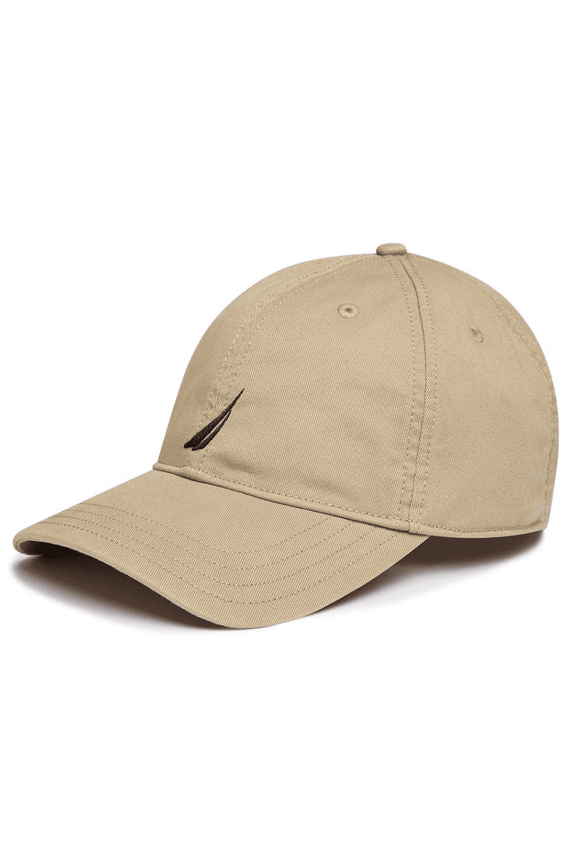 NAUTICA HEADWEAR NAUTICA 6 PANEL BUCKLE CAP - KHAKI TAN
