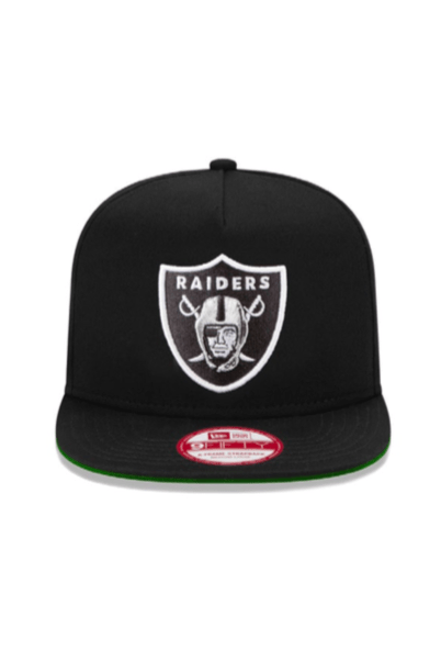NEW ERA HEADWEAR NEW ERA 9FIFTY SNAPBACK RAIDERS - BLACK/WHITE