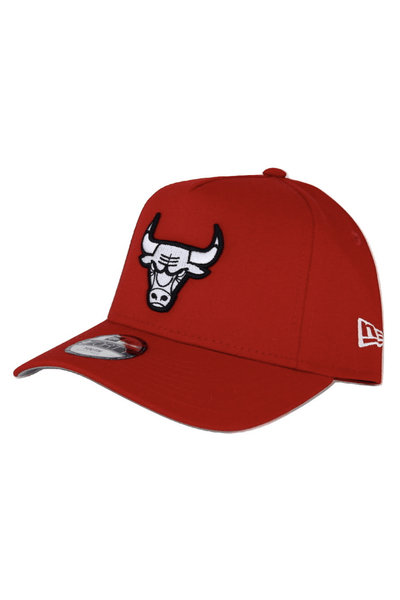 NEW ERA HEADWEAR NEW ERA 9FORTY A-FRAME CHICAGO BULLS - RED