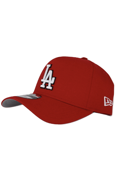 NEW ERA HEADWEAR NEW ERA 9FORTY A-FRAME LOS ANGELES DODGERS - RED