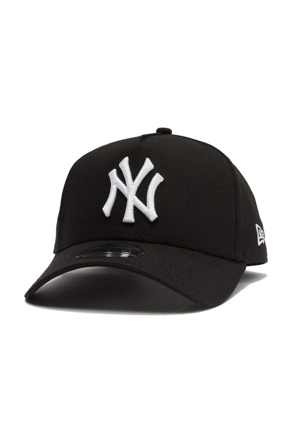 NEW ERA HEADWEAR NEW ERA 9FORTY A-FRAME NEW YORK - BLACK/WHITE