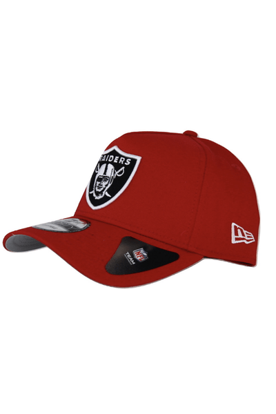 NEW ERA HEADWEAR NEW ERA 9FORTY A-FRAME RAIDERS - RED