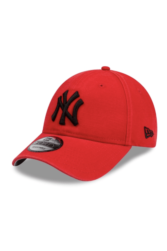 NEW ERA HEADWEAR NEW ERA 9FORTY STRAPBACK NY DODGERS - SCARLET RED