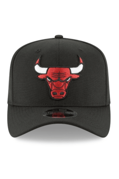 NEW ERA HEADWEAR NEW ERA CHICAGO BULLS 9FIFTY STRETCH FIT - BLACK