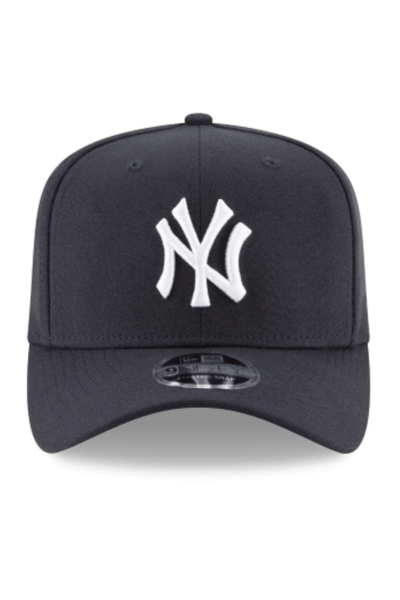 NEW ERA HEADWEAR NEW ERA NEW YORK 9FIFTY STRETCH FIT - NAVY