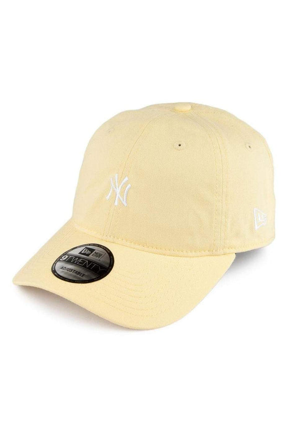 NEW ERA HEADWEAR NEW ERA NEW YORK YANKEES PASTEL 9TWENTY - YELLOW