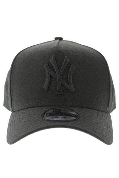 NEW ERA HEADWEAR NEW ERA NY YANKEES 940 A-FRAME SNAPBACK - BLACK