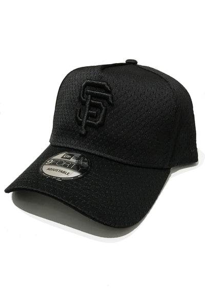 newest 78a7b 9bad7 NEW ERA HEADWEAR NEW ERA SAN FRAN MESH A-FRAME SNAPBACK - BLACK