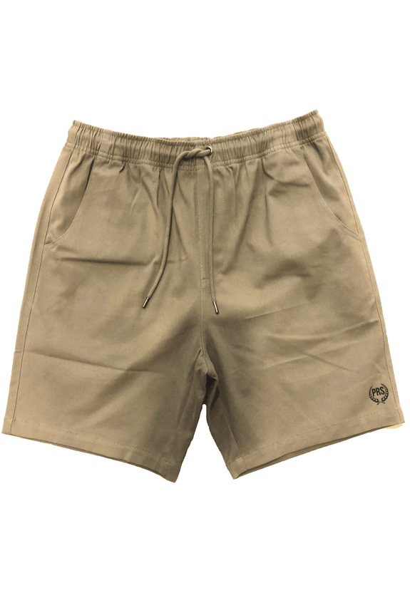 Pretty Rad Store SHORTS PRS WREATH WALKSHORT - KHAKI