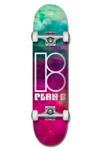 "Pretty Rad Store SKATEBOARD PLAN B COMPLETE SKATE DECKS 7.5"" - SMOKE"