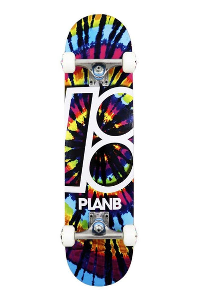 "Pretty Rad Store SKATEBOARD PLAN B COMPLETE SKATE DECKS 7.5"" - TRIPPY"