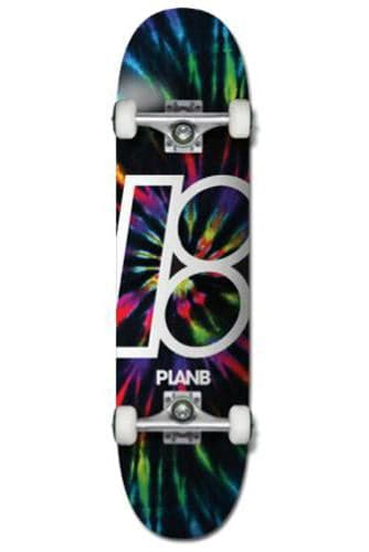 "Pretty Rad Store SKATEBOARD PLAN B COMPLETE SKATE DECKS 7.75"" - DARK SMOKE"