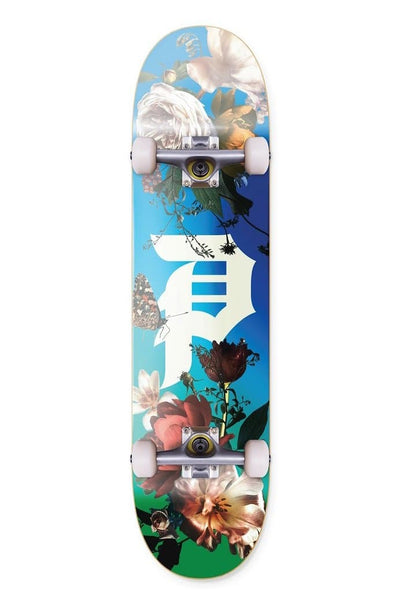 "PRIMITIVE SKATEBOARDS SKATE COMPLETE PRIMITIVE COMP DIRTY P COMPLETE SKATEBOARD 8.25"" - MULTI"
