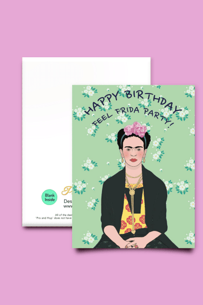 PRO & HOP GREETING CARD P&H 'FRIDA' GREETING CARD *PRE ORDER