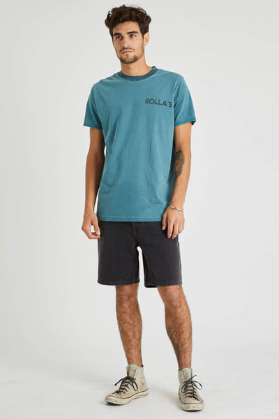 ROLLAS SHORTS ROLLAS LAZY BOY SHORT - STONE BLACK