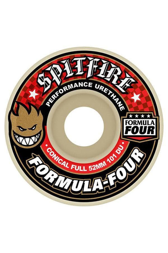 SPITFIRE WHEELS SPITFIRE FORMULA FOUR 101D CONICAL FULL - 52MM