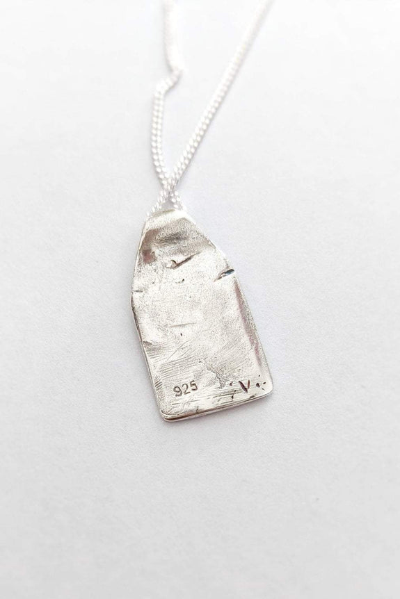 SUE THE BOY JEWELLERY ONE SIZE SUE THE BOY ASCEND PENDANT - 925 STERLING SILVER