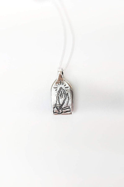 SUE THE BOY JEWELLERY ONE SIZE SUE THE BOY AVAIL PENDANT - 925 STERLING SILVER