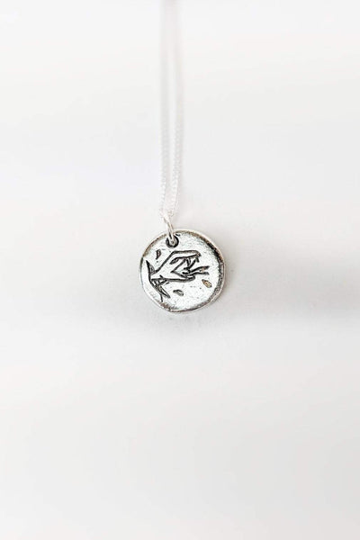 SUE THE BOY JEWELLERY ONE SIZE SUE THE BOY HEADS + TAILS PENDANT - 925 STERLING SILVER