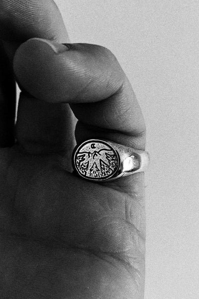 SUE THE BOY JEWELLERY SUE THE BOY HOWL WOLF RING - 925 STERLING SILVER