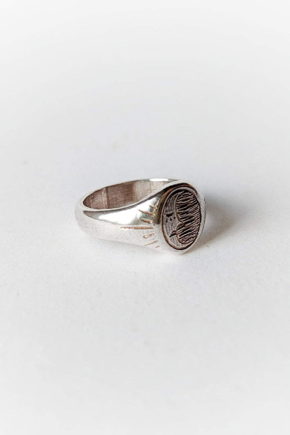 SUE THE BOY JEWELLERY SUE THE BOY HUNTERS MOON RING - 925 STERLING SILVER
