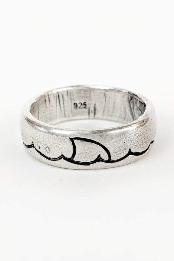 SUE THE BOY JEWELLERY SUE THE BOY SINK OR SWIM RING - 925 STERLING SILVER